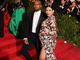 Kim K & Kanye Red Carpet